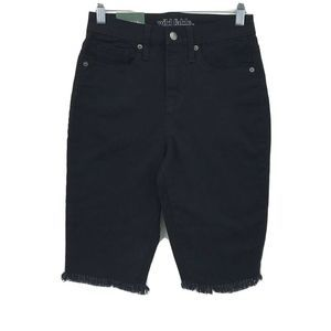 Wild Fable Shorts Size 00 High Rise Jeans Black
